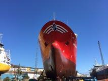 Torr skeppsdocka Royaltyfri Foto