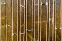 Torr skivatextur för bambu för bakgrund Royaltyfri Foto