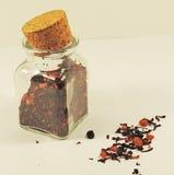 torr tea Arkivbilder