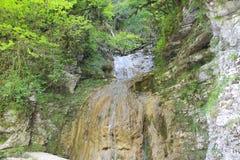 torr vattenfall Fotografering för Bildbyråer