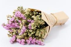 torra blommor för bukett Royaltyfria Bilder