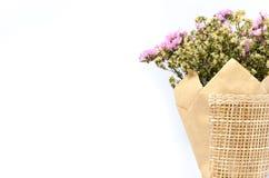 torra blommor för bukett Arkivfoton