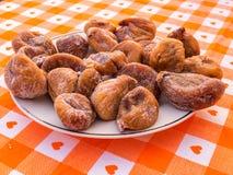 torra figs Royaltyfri Foto