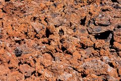 Torra Lava Basaltic Rock fotografering för bildbyråer