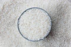 Torra okokta ris för vit Royaltyfri Fotografi
