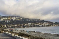 Torrance Beach, la Californie images libres de droits