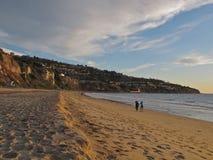Torrance Beach, Los Angeles, Kalifornien Lizenzfreie Stockbilder