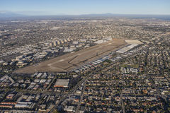 Torrance California Aerial View Royalty Free Stock Photo