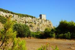 Torre圣玛丽亚小山谷`女低音,普利亚 库存图片
