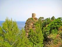 Torre在马略卡西北部的del Verger, 免版税库存照片
