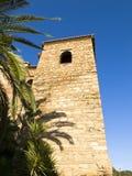 Torre árabe del castillo Fotos de archivo