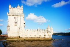 Torre του Βηθλεέμ, Λισσαβώνα, Πορτογαλία Στοκ Φωτογραφία