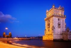 Torre του Βηθλεέμ, Λισσαβώνα, Πορτογαλία Στοκ φωτογραφία με δικαίωμα ελεύθερης χρήσης