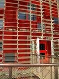 torre 02 agbar barcelona Стоковая Фотография RF