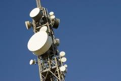 Torre 3 das telecomunicações imagem de stock