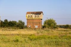 Torre abandonada del reloj Fotos de archivo