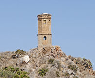 Torre abandonada, España Fotografía de archivo libre de regalías