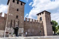Torre Abbaziale di San Zeno - Verona Italien Stockbilder