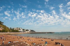 Free Torre Abbey Beach Torquay Royalty Free Stock Photography - 58035947