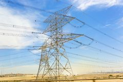 Torre ad alta pressione Fotografie Stock