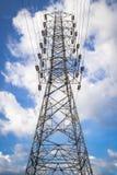 Torre ad alta tensione Immagini Stock