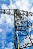 Torre ad alta tensione Fotografia Stock