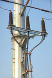 Torre ad alta tensione Immagine Stock Libera da Diritti