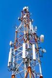 Torre ad alta tensione elettrica Immagini Stock