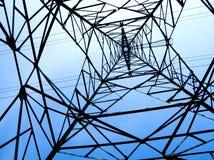 Torre ad alta tensione elettrica della trasmissione Fotografia Stock Libera da Diritti