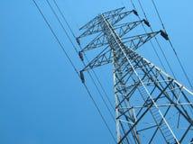 Torre ad alta tensione elettrica 2 della trasmissione Immagine Stock