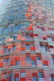 Torre Agbar à Barcelone Photo libre de droits