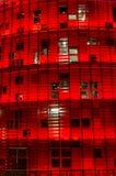Torre Agbar, Βαρκελώνη Στοκ Φωτογραφία