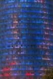 Torre Agbar -巴塞罗那-西班牙 图库摄影