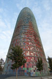 Torre Agbar Photos stock