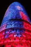 Torre Agbar Stock Foto