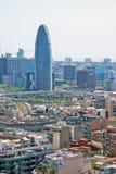 Torre Agbar Foto de archivo