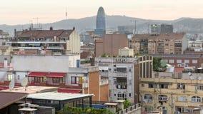 Torre Agbar Fotografie Stock Libere da Diritti