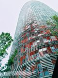 torre agbar Photographie stock
