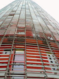 Torre Agbar, Barcellona, Spagna Fotografia Stock Libera da Diritti