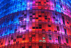 Torre Agbar, Barcelona Royalty-vrije Stock Afbeelding