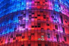 Torre Agbar, Barcelona lizenzfreies stockbild