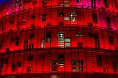 Torre Agbar, Barcelona Obraz Royalty Free
