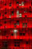 Torre Agbar, Barcelona Fotografia Stock