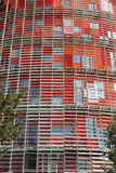 Torre Agbar. Barcelona landmark, Spain. Stock Photography