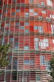 Torre Agbar. Barcelona punkt zwrotny, Hiszpania. Fotografia Stock