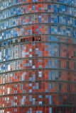 Torre Agbar, Barcelona, Spain Stock Photo