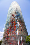 Torre Agbar in Barcelona Royalty Free Stock Photos