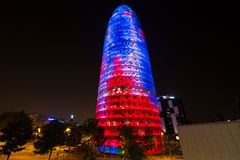 Torre Agbar Stock Image