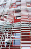 Torre Agbar, Barcelona Stock Photos