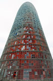 Torre Agbar, Barcelona Royalty Free Stock Image